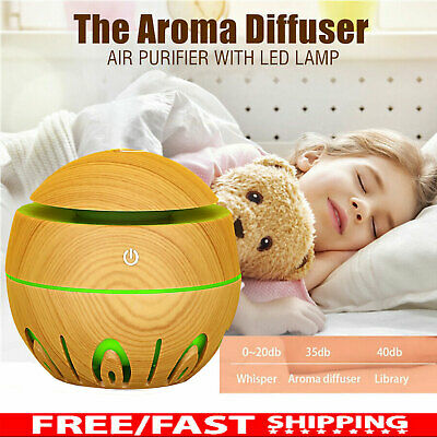 AU14.99 • Buy Ultrasonic Aroma Air Humidifier Aromatherapy Diffuser Essential Oil LED Purifier