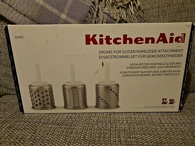 £26 • Buy Official KitchenAid Drums For Slicer/shredder Attachment Mixer. New In Box