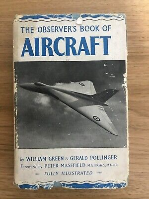 £4 • Buy The Observers Book Of Aircraft 1952 - Fully Illustrated VINTAGE BOOK