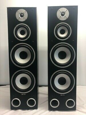 £59.99 • Buy Tibo Xtreme 400 3-Way Bass Floor Standing Speakers Hi-Fi Sound 200W Collect SK10
