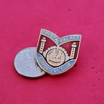 £7.99 • Buy OLD CRYSTAL  PALACE FOOTBALL SUPPORTERS CLUB PIN BADGE (p56)