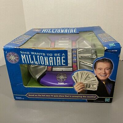 £36.44 • Buy 2001 Tiger Electronics Who Wants To Be A Millionaire Electronic Game
