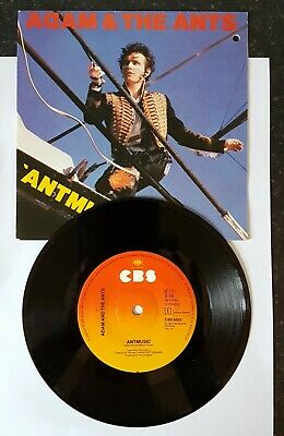 £0.99 • Buy ANT MUSIC - Adam & The Ants 7  Single CBS9352 - Excellent Condition