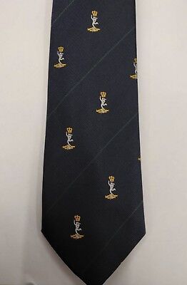 £12.50 • Buy Royal Signals Logo Tie, Sigs Cap Badge Polyester, Army, Military, Present, Gift