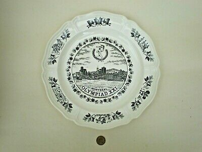 £4.99 • Buy Wedgwood Queens Ware 1976 Montreal Olympics XXI Commemorative Plate