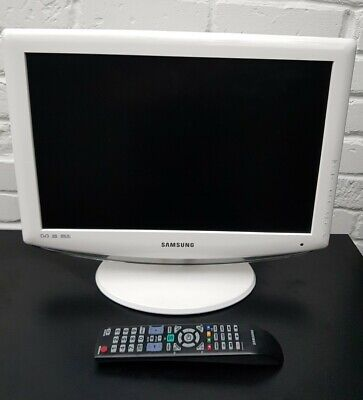 £69.99 • Buy Samsung White HD LCD 19inch Remote Control, HDMI Backlight Technology, Freeview