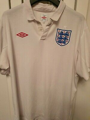 £23 • Buy England 2010 XL Football Home Shirt South Africa World Cup Umbro Size 44