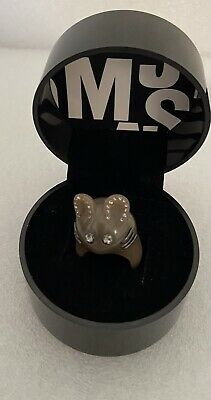 £25 • Buy Boxed Marc By Marc Jacobs Grey/Light Brown Plastic Crystal Mouse Ring