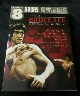 £5.81 • Buy The Best Of Bruce Lee Volume 1 & 2 DVD Box Set Fists Fury Chinese Connection Li