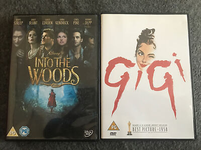 £3 • Buy Into The Woods/Gigi Musical DVDs