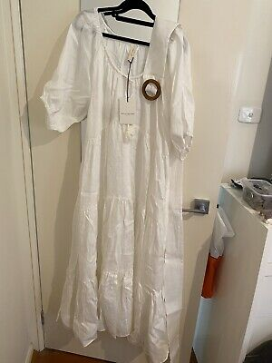 AU280 • Buy Spell And The Gypsy Gardenia Gown White Large