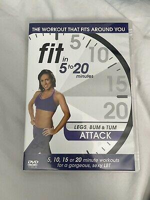 £0.99 • Buy Fit In 5 To 20 Minutes - Legs Bum And Tum Attack (DVD, 2011)