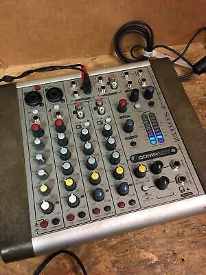 £40 • Buy Soundcraft Compact 4  Mixing Desk With PSU