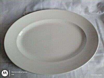 £25 • Buy Large Vintage Traditional Digion French White Serving Sharing  Plate Platter