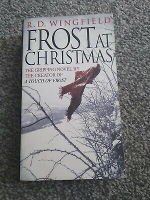 £0.99 • Buy R.D Wingfield Frost At Christmas Paperback Book