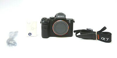 AU837.48 • Buy Sony Alpha A7 II 24.3MP Digital Camera Body Used Excellent 580 Shutter Count
