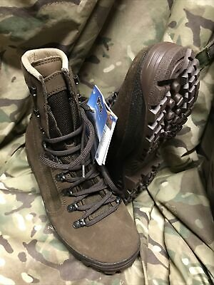 £39.95 • Buy Genuine British Issue Brown Desert Meindl Boots!New With Tags! Size 6 Wide