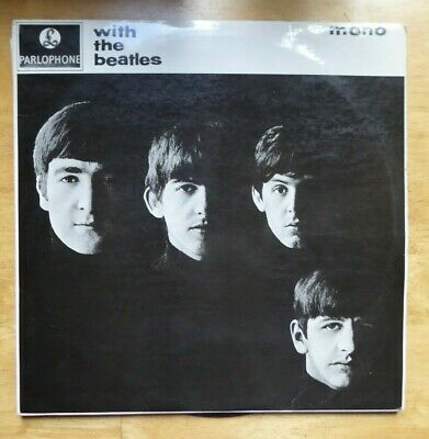 £49.99 • Buy With The Beatles Uk 1963 Mono Parlophone Pmc 1206 Xex 447-1n Kt Tax Code Vg
