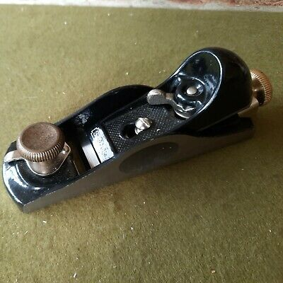 £20 • Buy A Stanley Adjustable Mouth Block Plane With Brass Knobs
