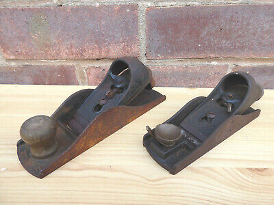 £15 • Buy 2 X Vintage Collectable Stanley Block Planes.  9 1/2 Low Angle And 110.