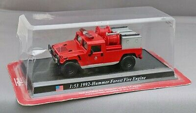 £3.99 • Buy Del Prado Diecast 1:53 American 1992 Red Hummer Forest Fire Engine Boxed VGC