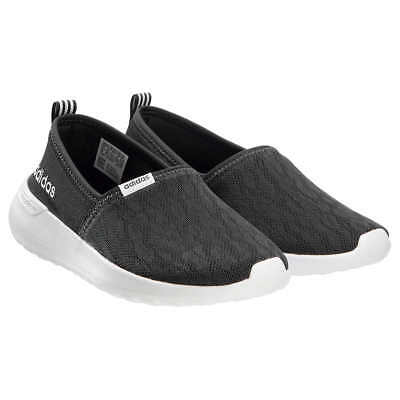 AU60.60 • Buy NEW Womens Black ADIDAS Slip On CloudFoam Neo Lite Racer Shoes Sneakers Size 6.5