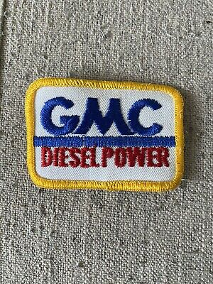 £0.72 • Buy Gmc Diesel Power Embroidered Patch, Gmc Patch, Embroidered Patch
