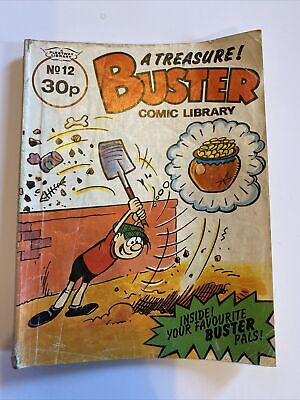 £2.50 • Buy Buster Comic Library Book No 12