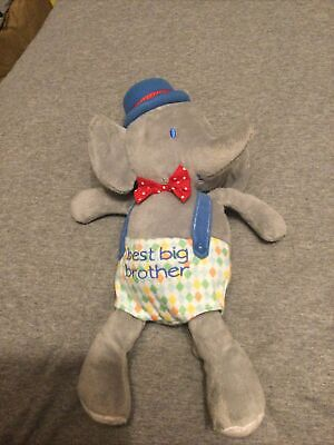 £1.50 • Buy Mothercare Best Big Brother Soft Elephant Toy Comforter