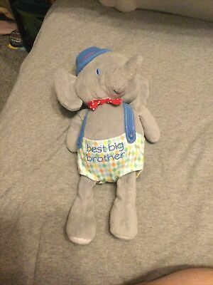 £2 • Buy Mothercare Best Big Brother Soft Elephant Toy