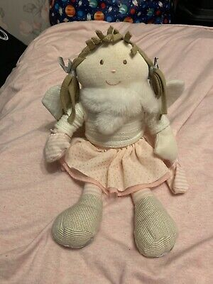 £1 • Buy Mamas & Papas Once Upon A Time Fairy Berry Angel Doll Soft Toy Ice Skates