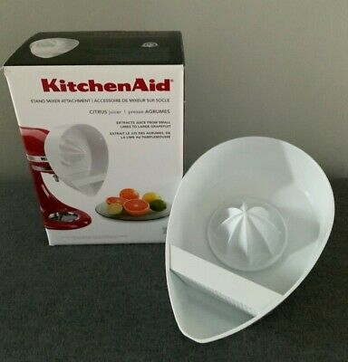 £15 • Buy Kitchen Aid Citrus Juicer Attachment For Stand Mixer **Used With Original Box**