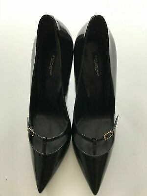 £169 • Buy RRP£375, New Dolce & Gabbana Shoes, Black, Patent Shoes, UK7, 40, US10