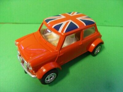 £14.95 • Buy Scalextric Union Jack Mini Cooper Slot Car. All Complete. Tested & Working VGood