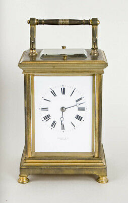 £707 • Buy French 5 Minute Repeater Carriage Clock @ 1890 Excellent Rare Tiffany & Company