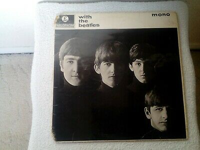 £70 • Buy The Beatles.with The Beatles.black And Yellow Parlophone Pmc1206 7n-7n.1963.