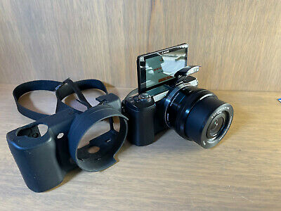 AU350 • Buy Sony A5000 Mirrorless Camera With 16-50mm Lens+ CASE! SUPER LOW SHUTTER COUNT!