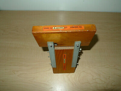 AU66.51 • Buy Vintage Chas. O. Larson Co. Sterling ILL.  RARE  Saw Horse Bracket Store Display