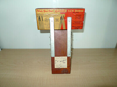 AU59.85 • Buy Vintage Chas. O. Larson Co. Sterling ILL.  RARE  Saw Horse Bracket Store Display