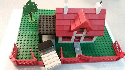 £32.99 • Buy Vintage Lego - Legoland Set 346 - House And Car - With LEGO Collector's Guide
