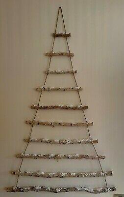 £16.87 • Buy Cox&Cox Frosted Branches Christmas Hanging Tree