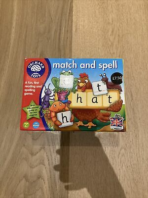 £1.50 • Buy Orchard Toys Match And Spell Game