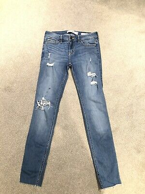 £2.20 • Buy Hollister Ladies Jeans Size 3R . Low Rise Super Skinny .