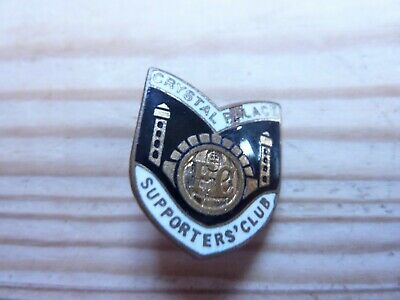 £13 • Buy Rare Crystal Palace FC Supporters' Club Enamel Pin Badge By H W Miller