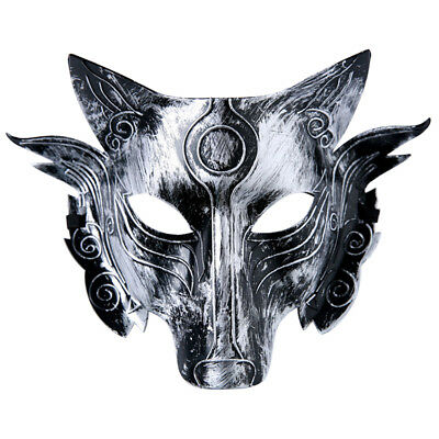 £1.89 • Buy Scary Full Face Devil Masquerade Animal Wolf Mask Costume Party Cosplay