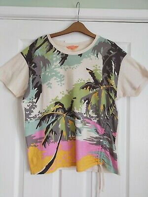 £0.99 • Buy Tropical Print T-shirt From Next Size 14