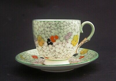 £25 • Buy Paragon Art Deco Rare China Cup & Saucer 68936 Hand Painted Floral 1933-39