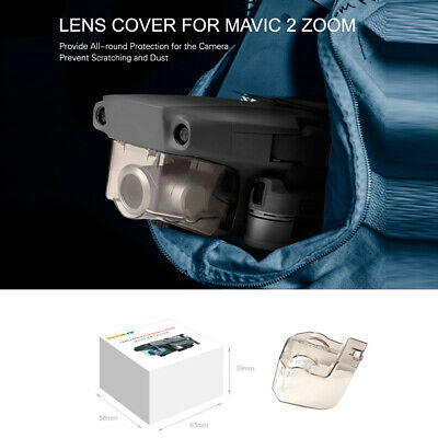 AU7.44 • Buy For DJI Mavic 2 Pro / Zoom Drone Transparent Gimbal Camera Protection Cover Lens