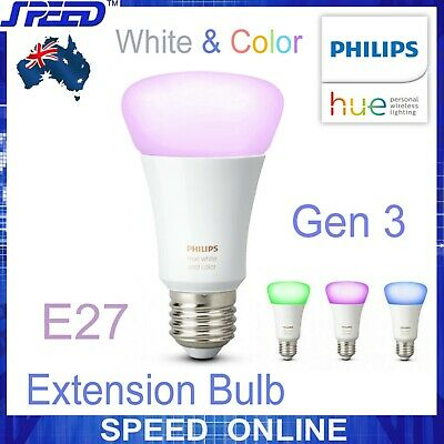 AU89 • Buy Philips Hue White And Color Ambiance - Gen 3 - Extension Bulb - Single - (E27)