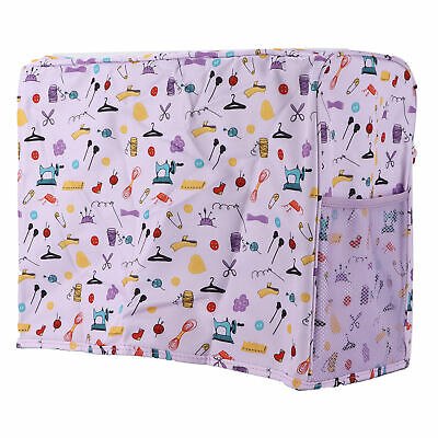 AU24.63 • Buy Purple Sewing Machine Table Mat Home Daily Household Product Storage Dust Cover
